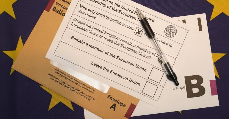 EU referendum Brexit vote