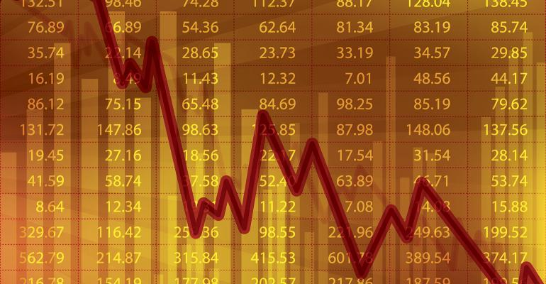 investing chart downward trend graph