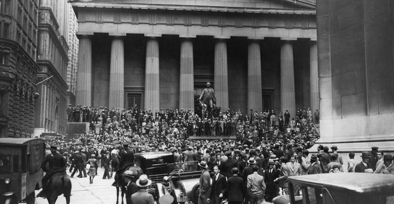Wall Street Great Depression
