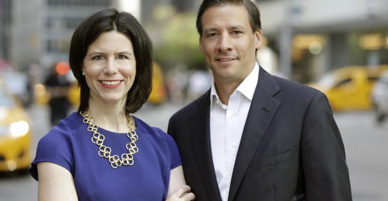 Former Lebenthal advisors Carrie Gallaway left and Andrew Stern right have formed YorkBridge Wealth Partners