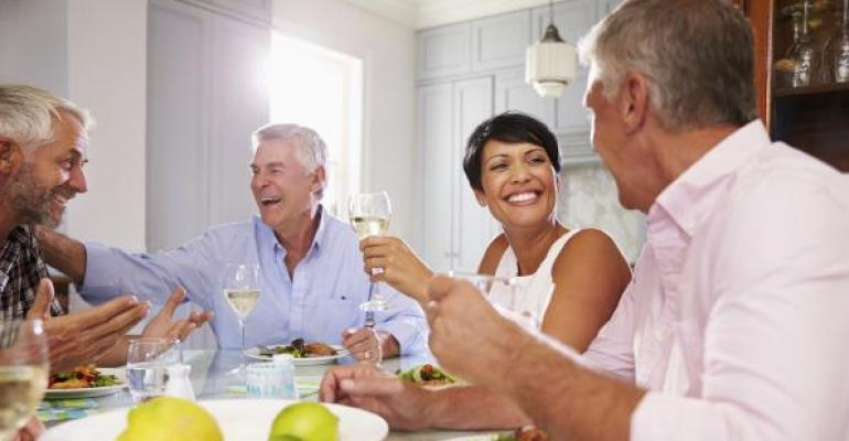 The Value of Social Networks in Retirement