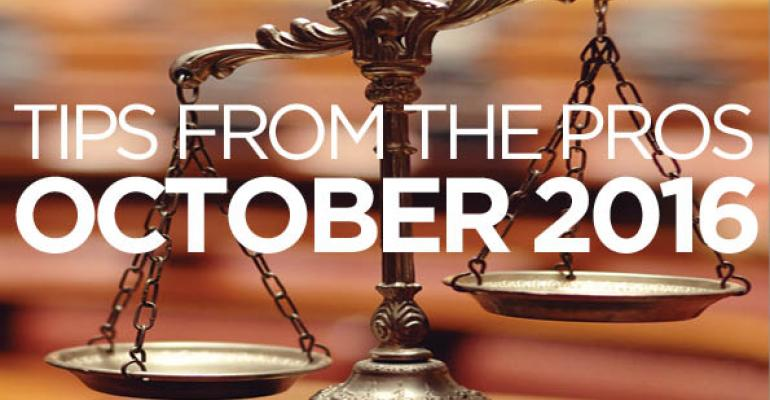 Tax Law Update: October 2016