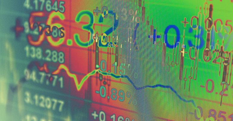 stock prices chart
