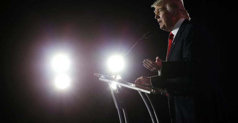 Donald Trump spotlight
