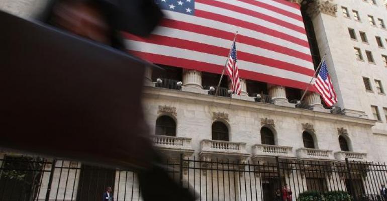 Wall Street walking