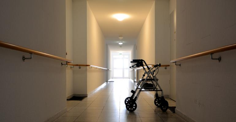 nursing home hall