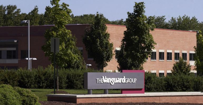 Vanguard sign