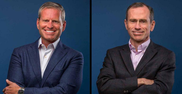 Veriti co-founders Jim Dilworth and David Beatty