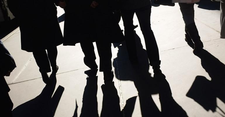 walking on street shadows