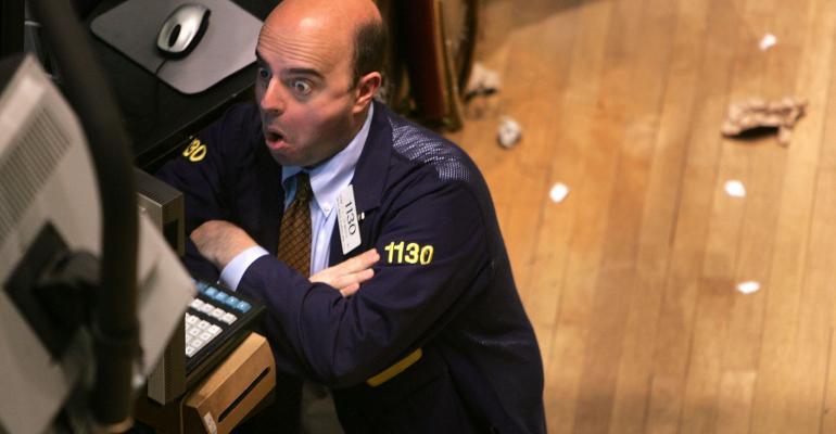 stock market trader face