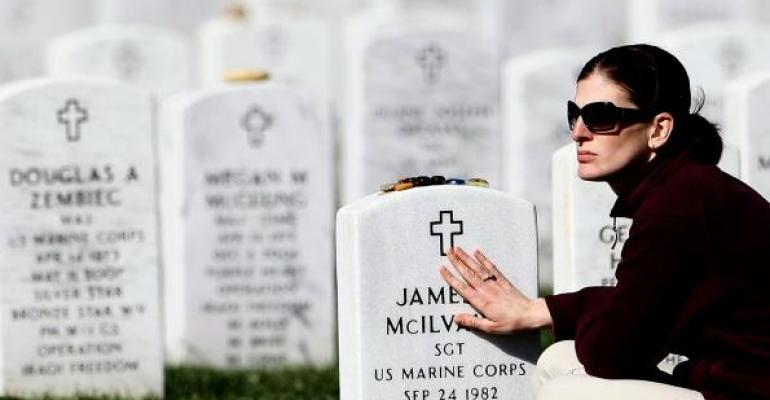 military widow