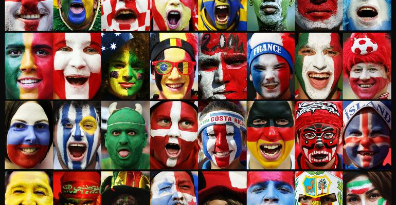 World Cup faces