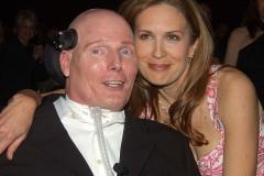 Christopher Reeve and wife Dana Reeve