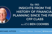 Kitces podcast ben coombs