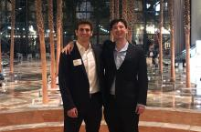 YourStake co-founders Gabe Rissman and Patrick Reed