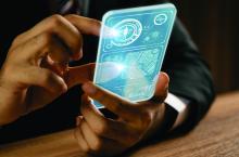 advisor futuristic mobile phone
