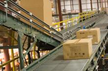 warehouse conveyor belt