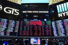 New York Stock Exchange board March 12, 2020