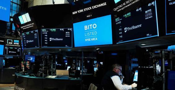 BITO bitcoin futures etf new york stock exchange