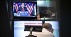 Trump Frankfurt trader
