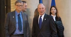 Bill Gates and Mike Bloomberg