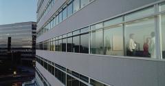 office meeting window