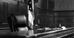 courtroom judge bench