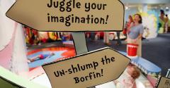 Dr. Seuss exhibit at the Children's Museum of Manhattan