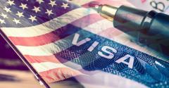 Visa USA flag