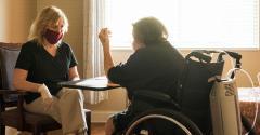 nursing home healthcare worker