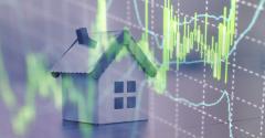 house stock market graph
