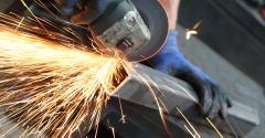 steel grinding
