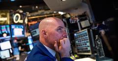nervous stock trader