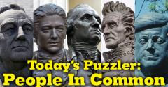 The Puzzler #50: People in Common