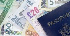 U.S. passport foreign money
