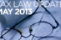 Tax Law Update May 2013