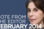 Editor's Note: February 2014