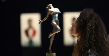 sculpture, Jackie Collins collection