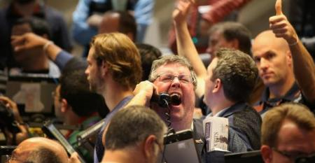 bond traders screaming