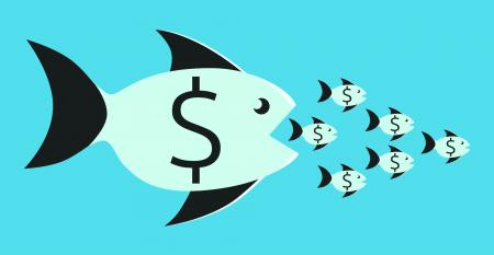 mergers fish money