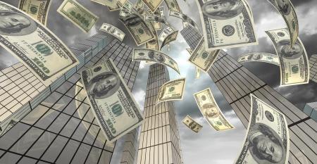money skyscrapers