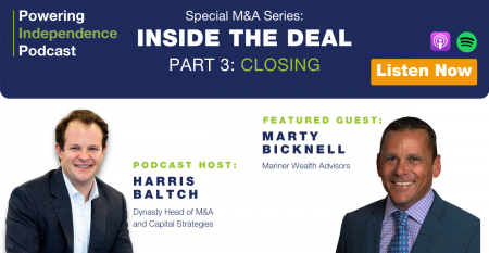 Inside The Deal Podcast Harris Baltch Marty Bicknell