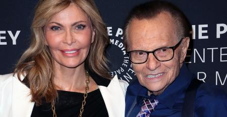 Larry King and wife Shawn King
