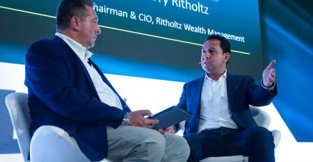 Barry Ritholtz and Peter Mallouk at Wealth/Stack