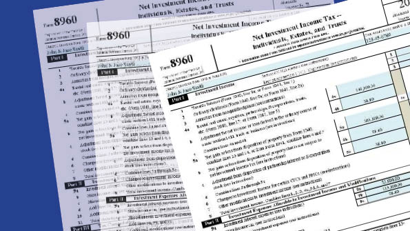 Irs Issues Draft Instructions For Net Investment Income Tax Form