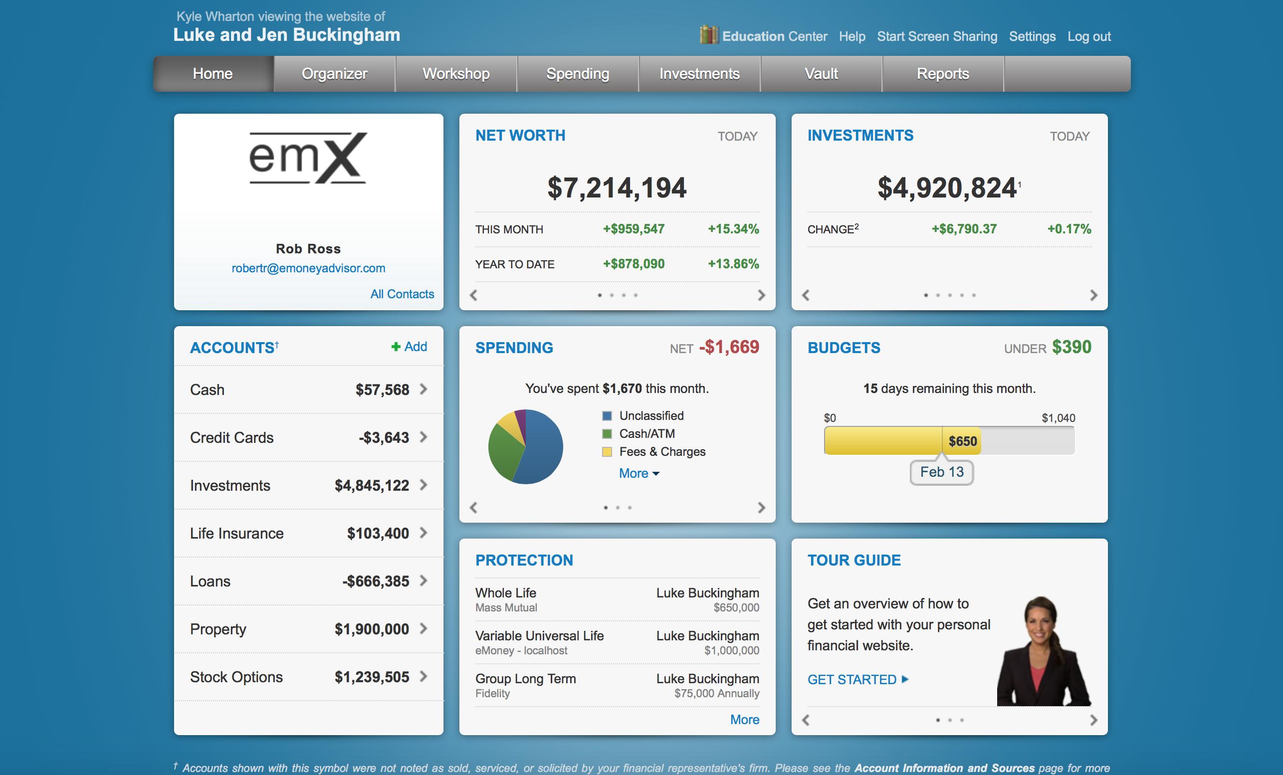 emoney reveals new emx select dashboard at 2015 t3 conference wealth management emoney reveals new emx select dashboard