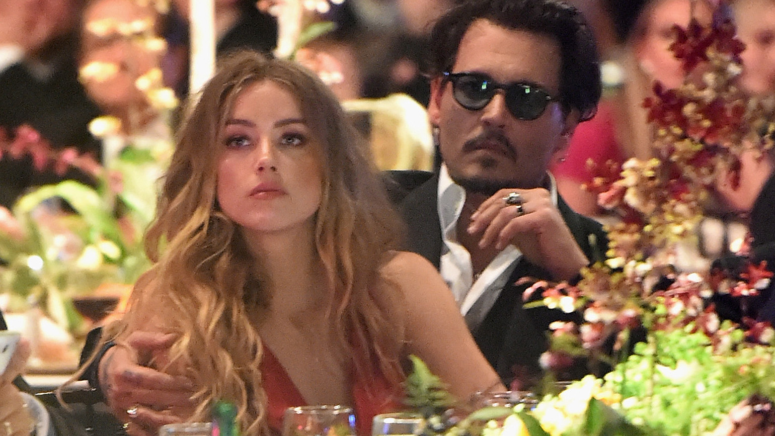 Johnny Depp and Amanda Heard