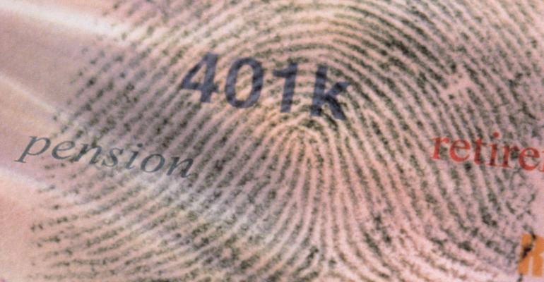 401(k) fingerprint
