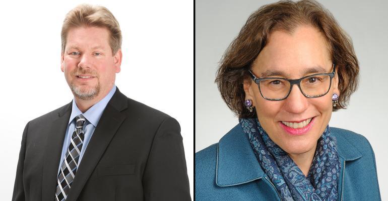 Greg Stockett and Nina McKenna
