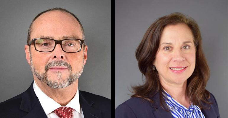 Joseph Hunter and Kari Franz